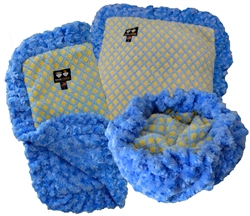 Custom Bed-in-a-Blanket- Blue Sky and Robin Egg or Customize your Own