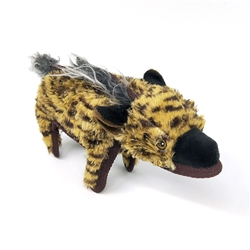 Hyena Dog Toy w/ Tennis Ball
