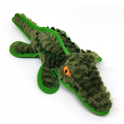 Gator Dog Toy w/ Tennis Ball