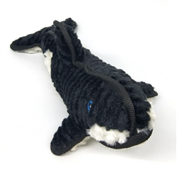 Killer Whale Dog Toy w/ Tennis Ball