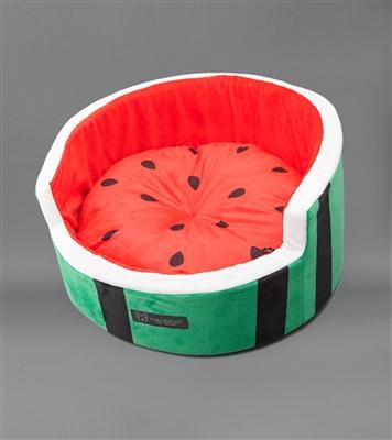 WATERMELON SHAPE MICRO FLEES PET BED
