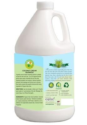 Espree Coconut Cream Shampoo, 1 Gallon