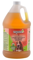 Espree Luxury Tar & Sulfa Itch Relief Shampoo, 1 Gallon