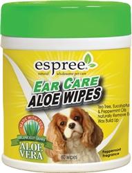 Espree Ear Care Wipes, 60ct