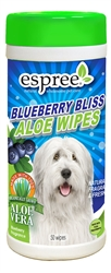 Espree Blueberry Wipes, 50ct