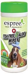 Espree Tea Tree & Aloe Healing Wipes, 50ct