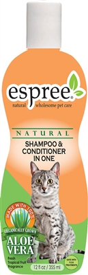 Espree Shampoo & Conditioner In One for Cats, 12oz