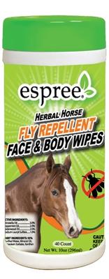 Espree Aloe Herbal Horse Face & Body Wipes, 40ct