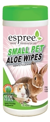 Espree Small Animal Wipes, 50ct