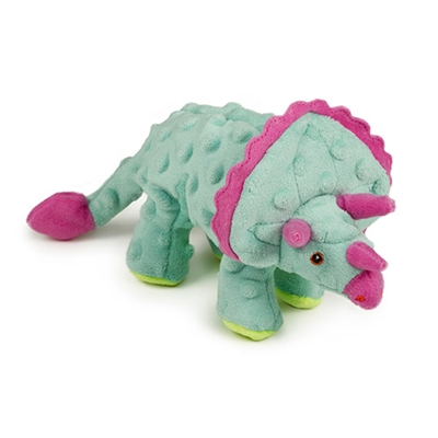 Teal Triceratops by GoDog