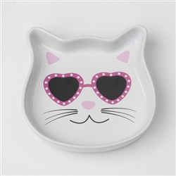 Diva Kitty Pink Saucer, 4oz