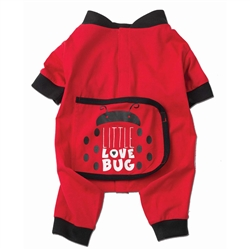 Little Love Bug PJs in Red