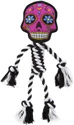 Sugar Skulls Pink Rope toy by GoDog