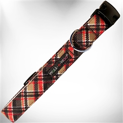 Gatsby Plaid Dog Collars and Leads