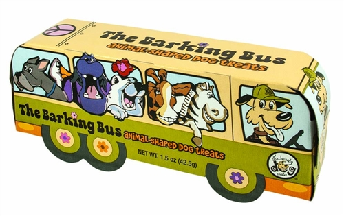 Exclusively Pet Cookies Barking Bus Animal Cookies Dog Treats 1.5oz