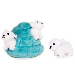 Zippy Paws - Zippy Paws Burrow Polar Bear Igloo