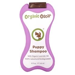 Organic Lavender Puppy Shampoo - 6OZ squeezable bottle