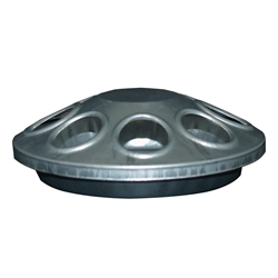 Chick Poultry 8 Hole Feeder Galvanized Steel from Harris Farms