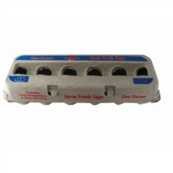 Poultry Egg Carton XL 250/cs from Harris Farms