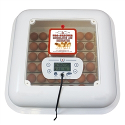 Egg Pro Hatcher Digital Incubator with Hard Cover for Poultry / Chicken from Harris Farms