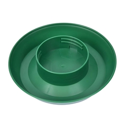 Screw ON Plastic Poultry Fountain Base from Harris Farms