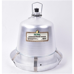 Poultry Aluminum Drinker Waterer from Harris Farms