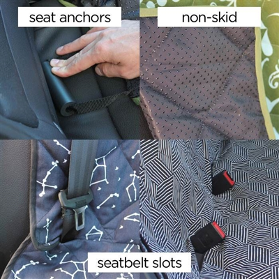 aurora borealis car seat cover