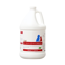 1 Gal. Concentrate - Pet Odor and Stain Eliminator, (makes 10 gallons)
