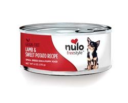Nulo FreeStyle Grain Free Lamb Sweet Potato Small Breed Dog Food Canned 24ea/6oz