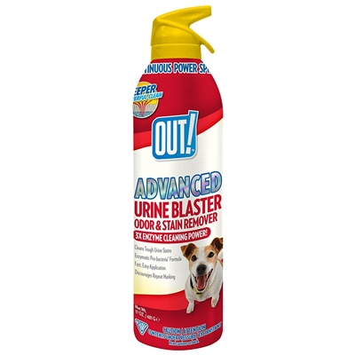 OUT! Advanced Urine Blaster Odor & Stain Remover Aerosol