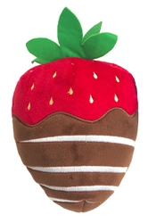 Chocolate Strawberry by Lulubelles Power Plush