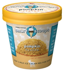 Puppy Cake - Smart Scoops Goat's Milk Ice Cream Mix Pumpkin