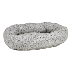 Milky Way Micro Jacquard Donut Bed
