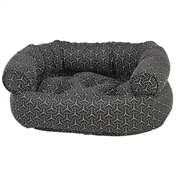 Cosmic Grey Micro Jacquard Double-Donut with Cosmic Grey Piping