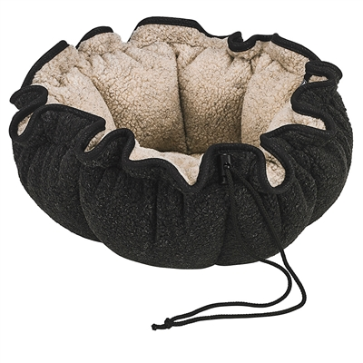 Carbon Berber  Buttercup Bed with Carbon Inner, Rodeo Trim