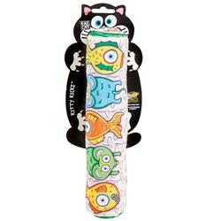 Fat Cat Gold Fish Roll Kicker Cat Toy