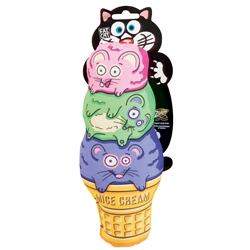 Fat Cat Mice Cream Kicker Cat Toy