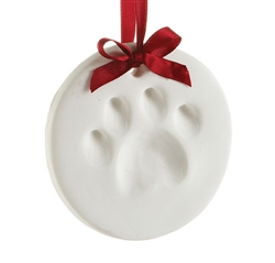 Pearhead- Dog Paw Print Ornament