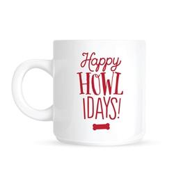 Pearhead - Happy Howlidays Mug