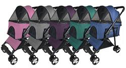 Dogline Executive Pet Stroller + Removable Cradle