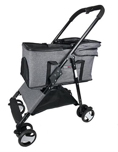 Dogline Executive Pet Stroller + Removable Cradle