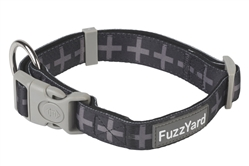 Yeezy (Black with Grey Crosses) Collar and Lead Collection