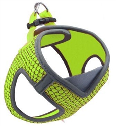 DOCO Athletica QUICK FIT V Honey Mesh Harness Reflective