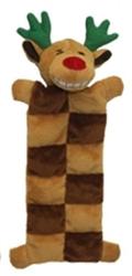 "12"" Loofa® Reindeer Squeaker Mat by Multipet"