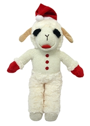 Standing Lamb Chop with Santa Hat by Multipet