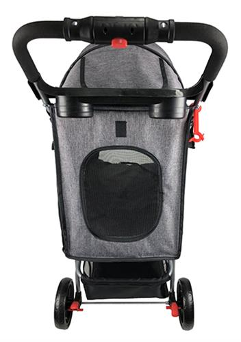 Casual Sport Pet Stroller + Removable Cup Holder