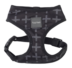 Yeezy (Black with Grey Cross) Dog Harness