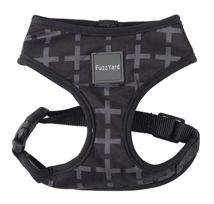 Yeezy (Black with Grey Cross) Dog Harness