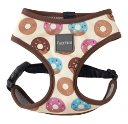 Go Nuts (Multicolored Donuts) Dog Harness