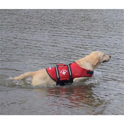 Premium Red Neoprene Dog Life Vest - XS,S,M or LG